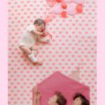 【NEW】寝相アート®『Family Love』家族写真(2021.10.30)