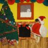 【クリスマス限定デザイン】寝相アート®「おうちクリスマス」(2019.11.24)
