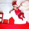 【クリスマス限定デザイン】寝相アート®「サンタが街にやってくる」(2019.11.23)