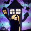 【NEW】寝相アート®︎『ハロウィンの館』(2021.10.31)