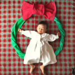 寝相アート®︎「クリスマスリース」2020年最終開催(2020.12.17)