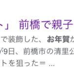 2020.12.10《gooニュース|寝相アート》