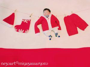 寝相アート,サンタ,せんたくもの,レオハウス, TBSハウジング伊勢崎