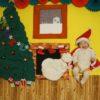 寝相アート®「おうちクリスマス」12月(2020.12.12)